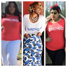 Unbothered tee on Shunmelson.com #plussize http://shunmelson.com/shop-fashun/