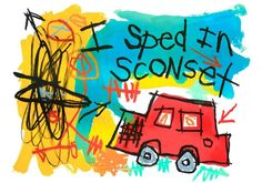 Artist: Stephen Pitliuk  Title: I Sped in Sconset, Ed. 21 Media: giclee print  Size: 17 X 22 inches Estimate: $350-$400