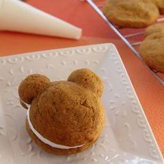 Mickey's pumpkin whoopie pies #recipe