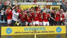 SL Benfica Campeão Europeu de Futsal
