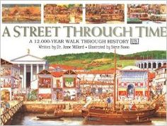 Traces the development of one street from the Stone Age to the present day, from dirt track to the rebuilding of inns as wine bars, showing how people lived and what they did all day.