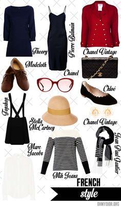 My Capsule Wardrobe Paris, http://www.ohmydior.org/2013/07/french-women-lifestyle.html