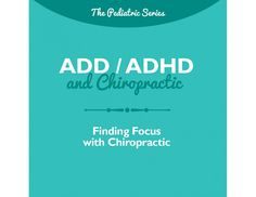Help parents understand the natural choices they can make to help better regulate their child's nervous system and manage ADD / ADHD.This brochure is also available in handout form, see it here.