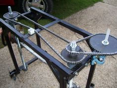 Home built bandsaw mill | Woodworking | Pinterest | Bandsaw mill ...