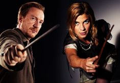 Nymphadora Tonks And Remus Lupin. My favorite couple in the entire series