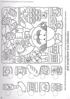 Archivo de álbumes School Worksheets, Kindergarten Worksheets, Printable Activities For Kids, Preschool Activities, Hidden Picture Puzzles, Learning Cards, Easy Drawings For Kids, Hidden Pictures, Tracing Letters