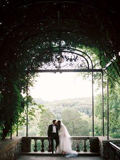 Peaceful Garden Wedding in Nashville
