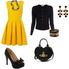 Modern Mustard, created by valster.polyvore.com
