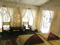 Unique glam accommodations in India | Beautiful Tents in India | Tent Rental India