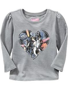 Long-Sleeve Star Wars™ Tees for Baby | Old Navy