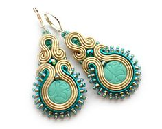 You will left everyone speechless with these earrings! Everyone will notice your new piece of jewelry and will be jealous how fabulous you look