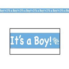 Its a Boy Baby Shower Party Tape