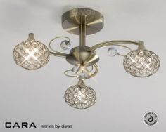This suite of products has been carefully designed to ensure the wow factor is not impossible just because of low ceilings. The matt finish of Satin Nickel or Antique Brass with the sparkle of the clear crystal is a combination that looks impressive. These items certainly offer the wow factor without disrupting the bank.All Items are supplied with Luxram G9 Lamps.
