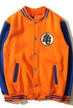 Mxnpolar-Dragonball-Dragon-Ball-Z-Kame-Symbol-Orange-Hoodie-Jacket-Cosplay-Costume-0
