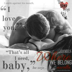 Releasing Now: Where We Belong by J. Daniels | The Never Ending Book Basket