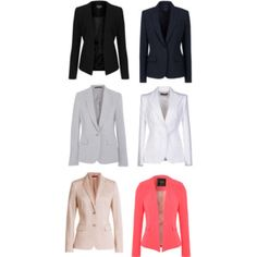 """BLAZERS"" by lecoquette-laura on Polyvore"