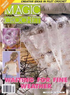 MAGAZINE: MAGIC CROCHET Nº 154 - Marcela Nagy - Picasa Web Albums ❤️LCM-MRS❤️ with diagrams.