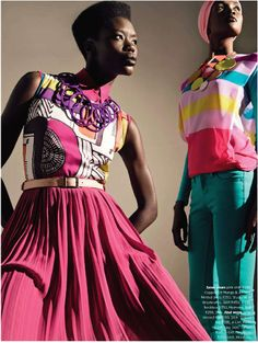 """""""The Bold and Beautiful"""" editorial shot for Cosmopolitan magazine South Africa"""