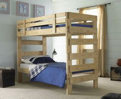 View photos of our beautiful, custom-build solid wood bunk beds and you'll see why our bunk beds are truly unique. Join our program and start building!