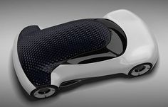 Hexa car concept features aerodynamic quality of that mimics the surface a golf ball and optical cavity of its unique material. It's a solar...