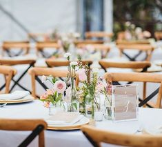 Simple and pretty florals with natural decor.  These Hampton Chairs are one of our most popular and versatile products.  See our online catalogue for more options. . . Styling// @splashevents Photographer// @Nickevensphoto Venue// @sunshinebeachsurfclub . . #splashevents #weddinginspo #sunshinecoastwedding #noosawedding #weddingstylist #visitnoosa #noosabride #weddingreceptiondecor  #sunshinecoaststylist #weddingtabledecor