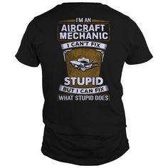 Mechanic shirt Aircraft Mechanic Tshirt Shirts & Tees