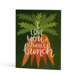 Another pun for your hun! Inspired by our love of gardening, this hand-painted card gives traditional love notes a unique spin! Printed locally in the Midwest, USA. Greeting Card Sentiments, Valentine's Day Greeting Cards, Love Cards, Diy Cards, Garden Puns, Love Notes, Mail Art, Paper Goods, Letterpress