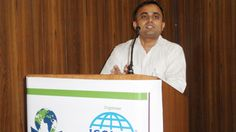 Mr. Sunil D Sharma, Secretary General, ISSME during the Seminar on Free Trade Agreements