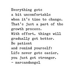 The goal isn't to get rid of all your negative thoughts, feelings or life situations before the New Year. The goal is to change your response to them. You Are Enough Quote, Enough Is Enough Quotes, Change Quotes, Quotes To Live By, Favorite Quotes, Best Quotes, Get Well Quotes, Perfection Quotes, It Gets Better