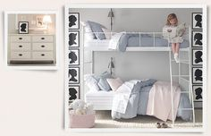light blue girls rooms | Tags: Baby Girl Room , Elegant baby room , Girl Room , ideas Little Girl Rooms, Girls Bunk Beds, Bunk Beds For Girls Room, Girls Bedroom, Baby Room, Bedroom Inspo, Bedroom Decor, Experiment, Alcove Bed