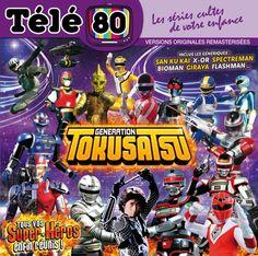 ToyzMag.com » Génération Tokusatsu les génériques français des séries Sentai