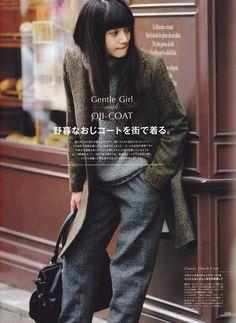 Gentle girl-Vikka magazine