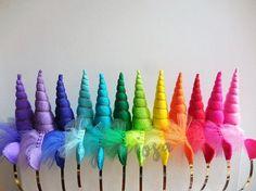 Arco iris unicornio fiesta Pack - diademas de unicornio arco iris - arco iris cuernos de unicornio - unicornio arco iris  Estimado cliente, Tenga en cuenta que este artículo se envía desde Bogotá, Colombia. Consulte los tiempos de tránsito estimado en la última foto de este listado. Por favor leer Descripción de este objeto y políticas de la tienda antes de ordenar. ¡Gracias!  ------------------------------------------------------------------------------------------ ¡Diadema de unicornio…