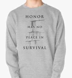 Carve The Mark - Honor Has No Place In Survival by BadCatDesigns