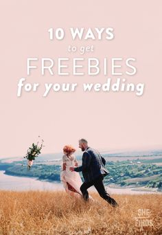 Wedding freebies a complete list of free wedding stuff and how to how to get freebies for your wedding junglespirit Gallery