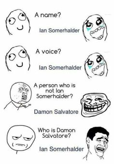 This is totally me. Ian Somerhalder- Damon Salvatore- The Vampire Diaries - This is totally me. Ian Somerhalder- Damon Salvatore- The Vampire Diaries The Effective Pictures We - Vampire Diaries Damon, Ian Somerhalder Vampire Diaries, Vampire Diaries Wallpaper, Vampire Daries, Vampire Diaries Quotes, Vampire Diaries The Originals, Original Vampire, Joseph Morgan, Paul Wesley