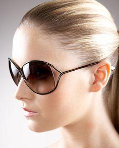 Miranda Sunglasses, Bronze by Tom Ford at Neiman Marcus.
