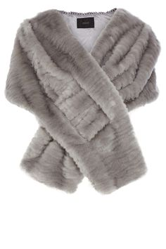 A glamorous faux fur cover up with a soft finish. The Elayne Fur Cover Up wraps around the body beautifully, providing the perfect amount of coverage for any special occasion.