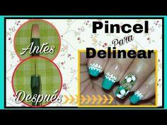 Como arreglar un pincel plano para delinear - YouTube Make It Yourself, Nails, Youtube, Blog, Fingernail Designs, Finger Nails, Ongles, Blogging, Nail