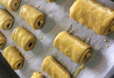 Madeleine Cake, Chocolate Roll, Gourmet Desserts, Croissants, Beignets, Rolling Pin, Raisin, Nutella, Bread Recipes