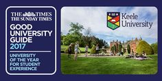 Keele University has been named 'University of the Year for Student Experience' in The Times and The Sunday Times annual University of the Year awards University Guide, Best University, The Sunday Times, Stoke On Trent, Student, Science, Memories, Park, Business