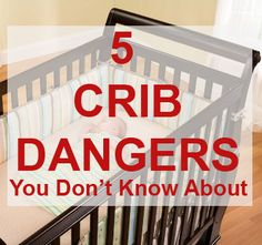Hazards to watch out for near your baby's crib.  I love all the tips, but #4 is great to me for informing those who smoke and think it doesn't effect anyone else, especially sweet babies.
