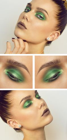 // Taupe and Green | Linda Hallberg //