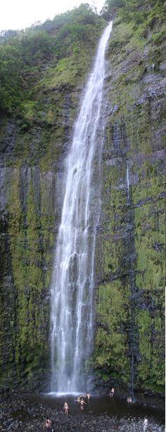 Waimoku Falls - Pipiwai Trail #roadtohana #maui