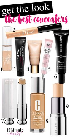 My Favorite Concealers: The Best Drugstore, Super Pigmented and Multi-Use Concealers Out There