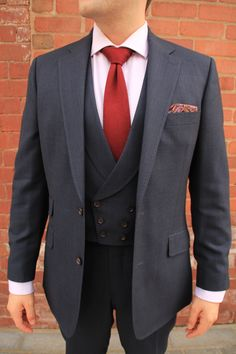 The fabric used to create this #suit is woven in Huddersfield by Dugdale Bros & Co. #Tailoring #Bespoke #Made-to-Measure http://dugdalebros.com/