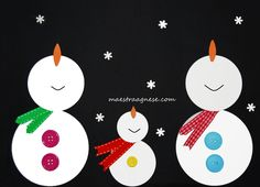 Lavoretti per l'inverno Diy Christmas Cards, Winter Christmas, Christmas Crafts, Christmas Ornaments, Fun Crafts, Crafts For Kids, Baby Drawing, Brown Paper Packages, Winter Art