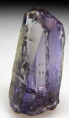 Tanzanite from Merelani Hills, Lelatema Mtns., Arusha Region, Tanzania. Photo via Marin Mineral.