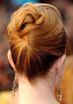 mother of the bride hairstyles 2015 - mother of the bride updo for mid length hair