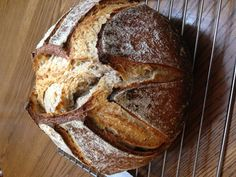 Spelt-barley Sourdough Bread